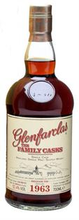 Glenfarclas Scotch Single Malt The Family Casks 1963 Cask...